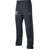 Gresham Football 21: Adult-Size - Nike Team Club Fleece Training Pants (Unisex) - Anthracite with White G Logo