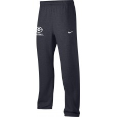 Gresham Football 21: Adult-Size - Nike Team Club Fleece Training Pants (Unisex) - Anthracite with White G Logo