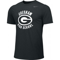 Gresham High School 14: Youth-Size - Nike Team Legend Short-Sleeve Crew T-Shirt - Black