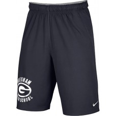 Gresham High School 30: Youth-Size - Nike Team Fly Athletic Shorts - Anthracite