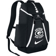Gresham High School 31: Nike Elite Max Air Team 2.0 Backpack - Black